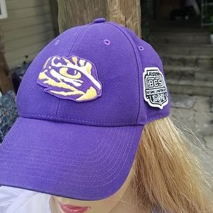 Nike LSU fitted baseball cap one-size-fits-all